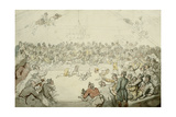 The Westminster Pitt Giclee Print by Thomas Rowlandson