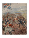Illustration of Napoleon Leading the Attack at Toulon Giclee Print by Jacques Onfroy de Breville