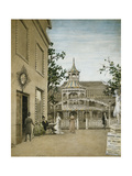 James Mcneill Whistler in the Cremorne Gardens, Chelsea Giclee Print by Walter Greaves