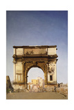 The Arch of Titus Giclee Print by James Kerr Lawson