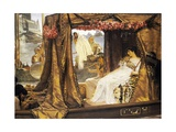 The Meeting of Anthony and Cleopatra Giclee Print by Sir Lawrence Alma-Tadema