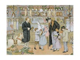 The Toy Shop Giclee Print by Francis Donkin Bedford
