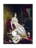 Empress Josephine in Coronation Robes Giclee Print by Francois Gerard