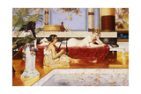 After the Bath Giclee Print by Casimiro Aldini Tomba