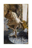 After the Bath Giclee Print by Edgar Degas