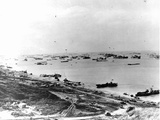 Omaha Beach on D-Day Photographic Print