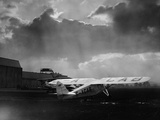 """Amy Johnson's """"The Desert Cloud"""" Preparing for Take Off Photographie"""
