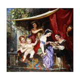 The Proposal Giclee Print by Carl Ludwig Friedrich Becker