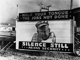 Security Billboard at Allis-Chalmers Plant Photographic Print