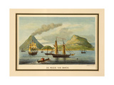 Island of Banda, Moluccas, Indonesia Giclee Print