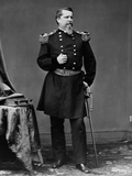 Union General Winfield Scott Hancock in Dress Uniform Photographic Print