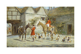 Before the Hunt Reproduction procédé giclée par George Wright