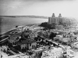 Aerial View of Havana Reproduction photographique