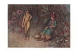 You Would Adorn the Palace of the Mightiest Sovereign Giclee Print by Warwick Goble