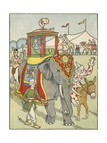Our Circus Friends Giclee Print by Rhoda Chase