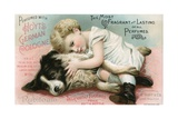 Hoyt's German Cologne Trade Card Giclee Print