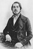 Friedrich Engels as a Young Man Photographic Print
