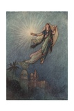 She Took Up the Jewel in Her Hand Giclee Print by Warwick Goble