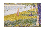 Women on the River Bank Giclee Print by Georges Seurat