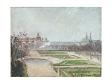 The Tuileries Gardens and the Louvre Giclee Print by Camille Pissarro