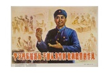 Set a Good Example, Fight Corruption, Chinese Cultural Revolution Giclee Print