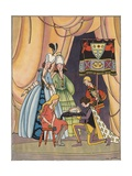 Illustration of the Prince with Cinderella's Glass Slipper Giclee Print by Lois Lenski