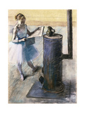Dancer Resting Giclee Print by Edgar Degas