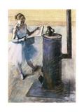 Dancer Resting Giclee Print by Edgar Degas