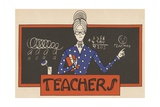 Teachers Giclee Print by Amelia Winter