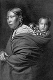 Mother and Child Photographic Print by Edward S. Curtis
