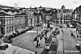 Zurich, Bahnhofplatz Photographic Print