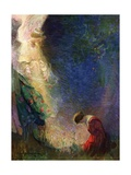Illustration of the Vision of Joan of Arc Giclee Print by Frank E. Schoonover