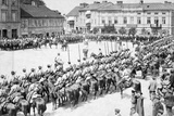 Russian Troops in Warsaw after the January Insurrection of 1863-1864 Photographic Print