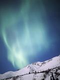 Aurora Borealis, Chugach State Park, Anchorage, Alaska Photographic Print