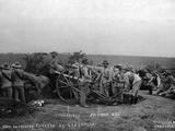 Boer Artillery Engaged Photographic Print