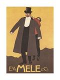 E. and A. Mele and Ci. Print Giclée-Druck von Leopoldo Metlicovitz