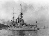 German Warship Deutschland Photographic Print