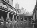 Roman Bath in Bath Photographic Print