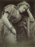 Mariana Photographic Print by Julia Margaret Cameron