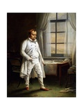 Napoleon on St. Helena Giclee Print by Charles Auguste Steuben