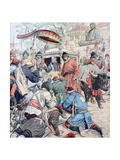 In Lhasa the Dalai Lama Flees the British Expedition to Tibet (N Giclee Print