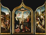A Triptych Photographic Print by Jacob Cornelisz van Oostsanen