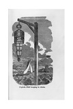 "Engraving of ""Captain Kidd Hanging in Chains"" Giclee Print"