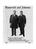 Roosevelt Campaign Poster for 1912 Presidential Election Giclee Print