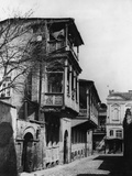Street in the Tartar Quarter of Tiflis Photographic Print