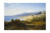 Taormina Giclee Print by Carl Rottmann