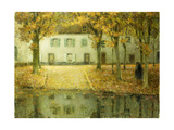 Little Place on the Banks of the Eau at Chartres Giclee Print by Henri Le Sidaner
