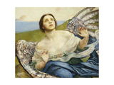 The Sense of Sight Giclee Print by Annie Louisa Swynnerton