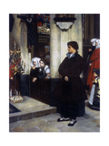 Pendant L'Office (Martin Luther's Doubts) Giclee Print by James Jacques Joseph Tissot
