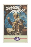 Bombs Away! Poster Giclee Print by Cecil Calvert Beall